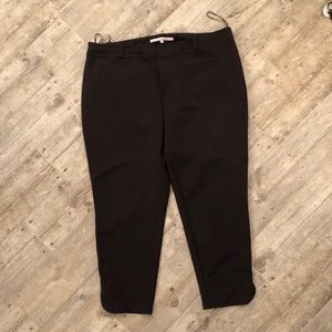 Rachel Roy black ankle slacks 18w
